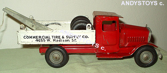rare metalcrat toy truck private label toy tonnka metalcraft