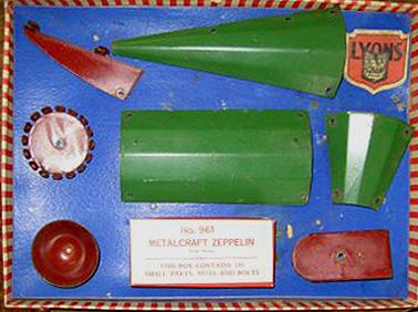 metal blimp zeppelin toy