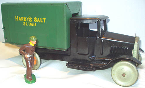 metalcraft hardy's salt toy truck 1931