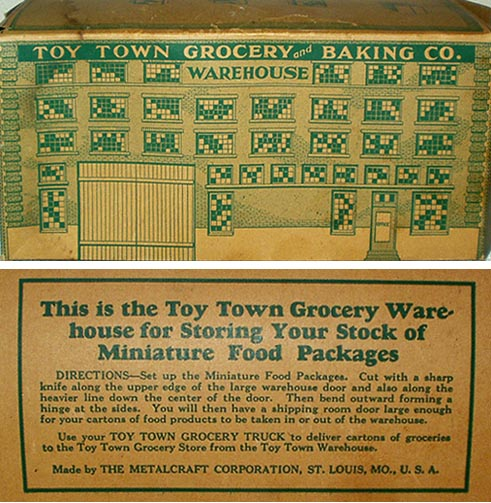 metalcraft toy truck box 1932